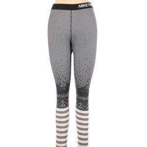 Nike Pro Workout Athletic Legging Tights Medium
